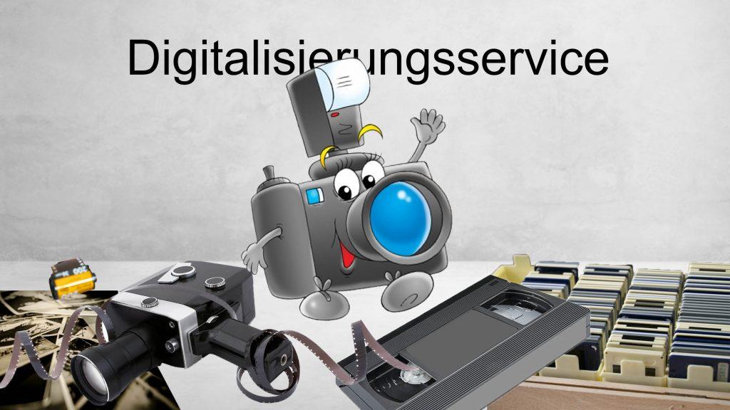 Digitalisierung von Dia, Film, Foto und Negativen