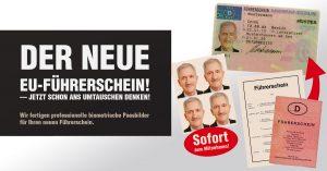 Passbild für neuen Führerschein